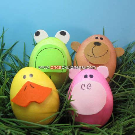 Yumurta Hayvanlar Ve Yuz Ifadeleri