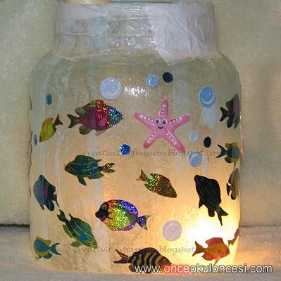 Поделки аквариума своими руками - Хорошие подел