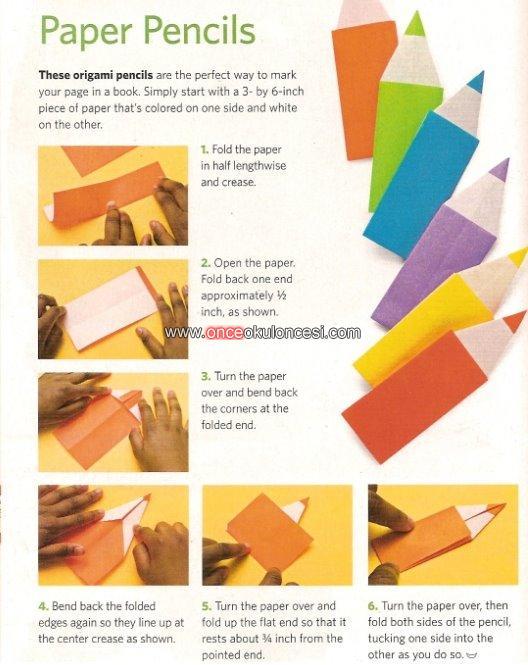 Как сделать цветной карандаш из бумаги