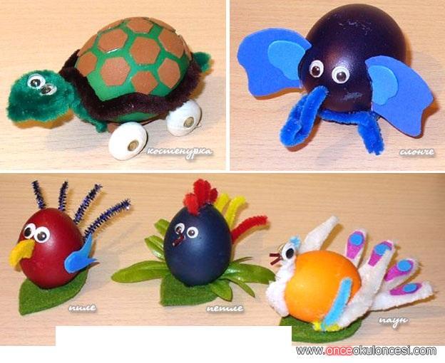 Yumurtadan Hayvanlar çalışamalar
