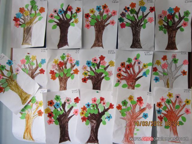 Ilkbahar Mevsimi Ağaçlarımız