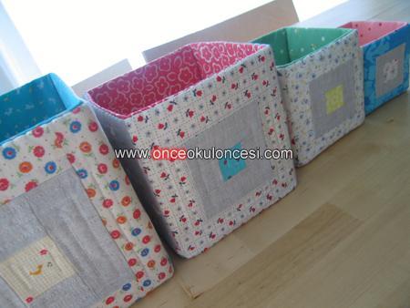 Как сшить коробку из ткани своими руками