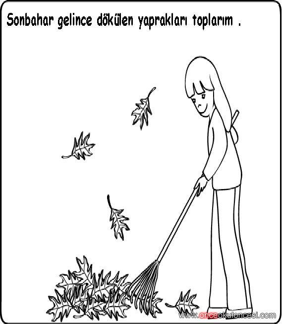Sonbaharla Ilgili Yardımlarınıza Ihtiyacım Var