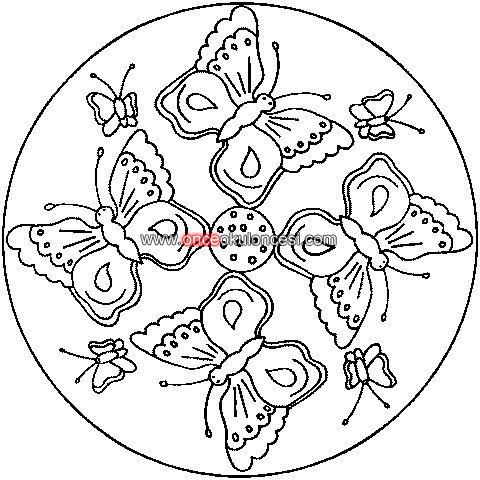 Mandala Ornekleri