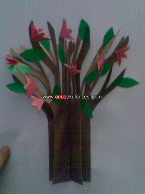 3 Boyutlu Bahar Ağacı
