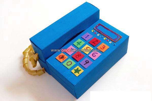 Как сделать игрушечный телефон