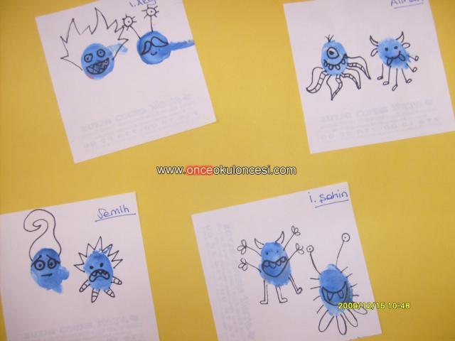 Parmaklarımızdan Mikroplar