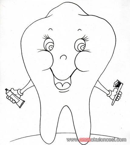 Sevimli Diş Boyamaları