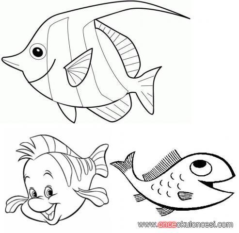 Balık Boyamaları
