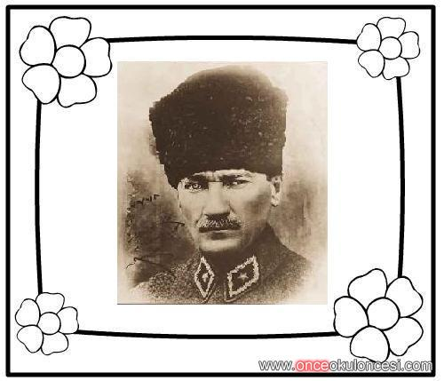 Mkemal Atatürk çerçeveleri