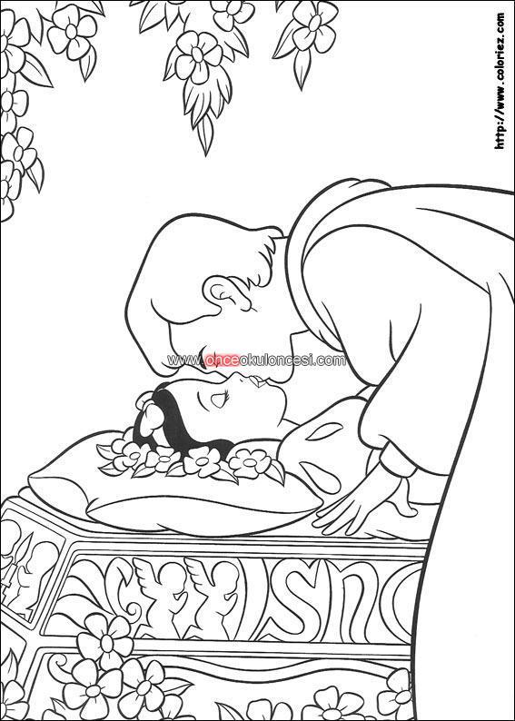 Best Pamuk Prenses Ve Yedi Cüceler Boyama Indir Image Collection