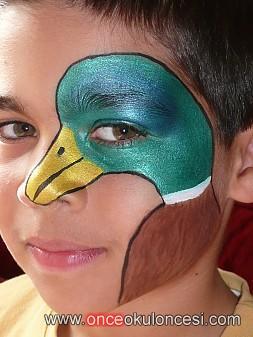 Best Okul öncesi Net Yüz Boyama örnekleri Image Collection
