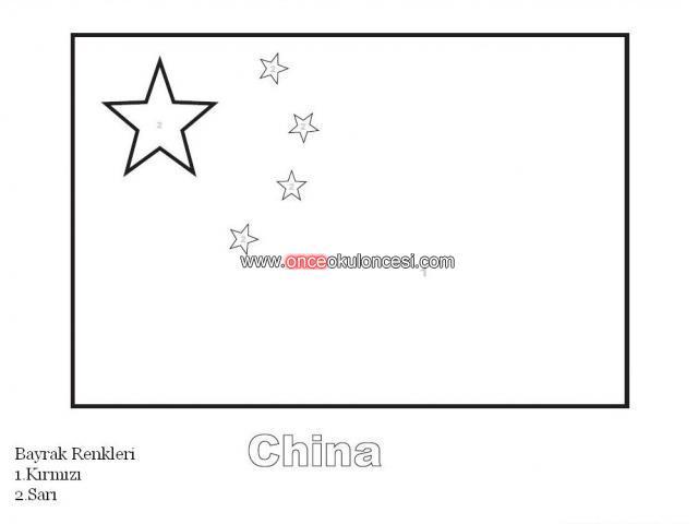 ülke Bayraklarını Rakamlara Göre Boyayalım