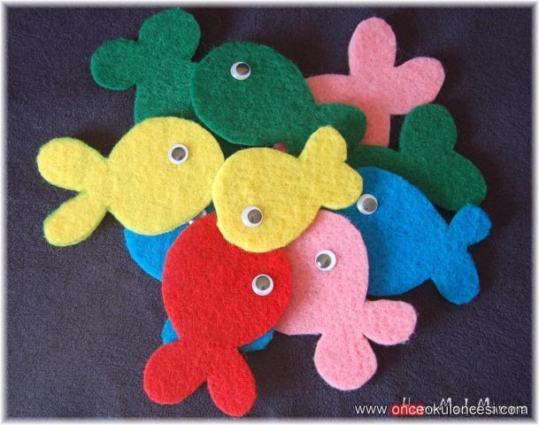 Ke eden bal klar for Pesciolini da colorare per bambini