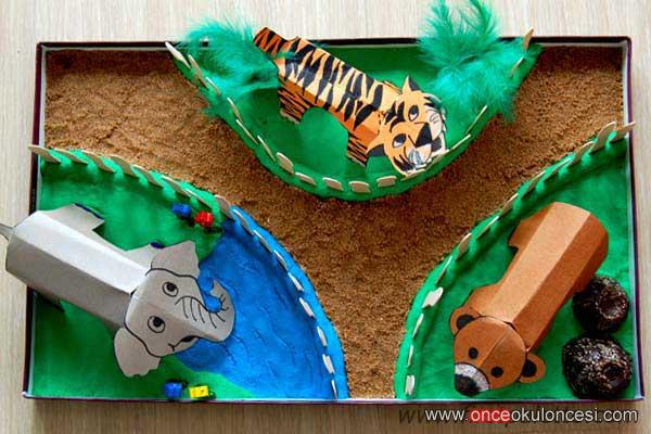 Поделки зоопарк своими руками