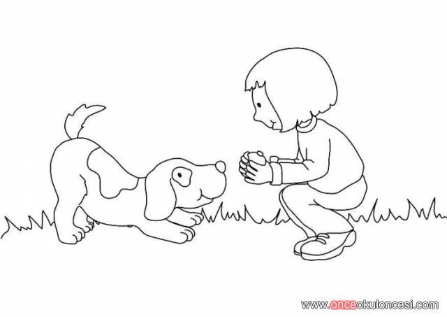 Hayvanlar Hayvan Sevgisi Veterinerler Boyama Sayfalari
