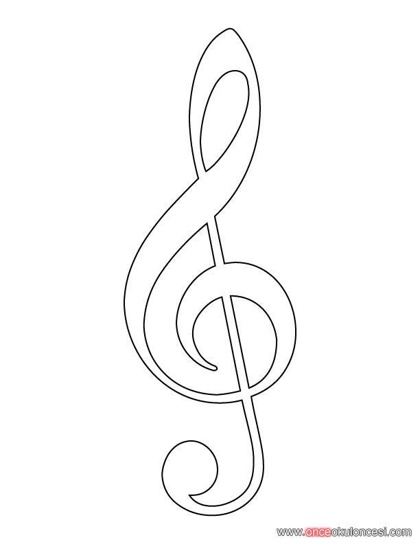 Muzik Ve Dans Boyama Sayfalari
