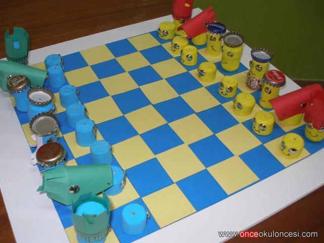 Satranç Taşları Hiç Bu Kadar Yaratıcı Olmamıştı