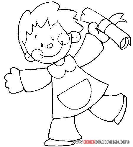 Yazdirilabilir Boyama Sayfasi Okul Oncesi Erkek Cocuk Boyama