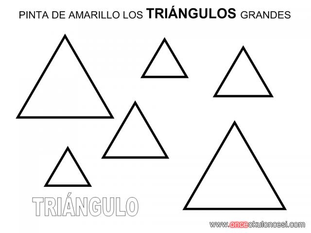 üçgen Ile Ilgili çalışma Sayfaları