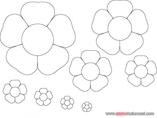 Цветок шаблон картинки 1