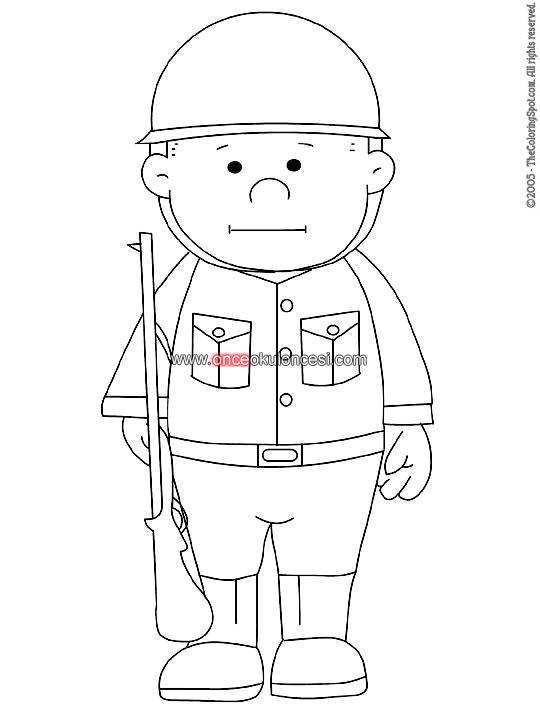 Раскраска для детей военные