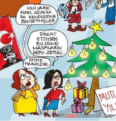 yeni yıl / kar ... karikatürleri ...