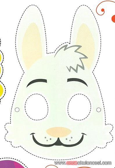 Tavşanördek Ve çiçek Maskesi Cokk şirinn