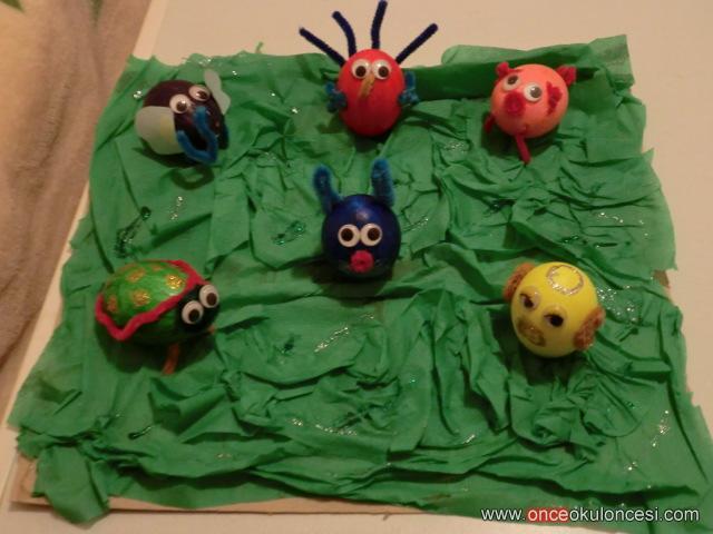 Yumurta Boyama Hayvanlar