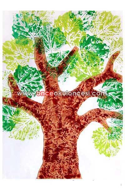 Как сделать дерево без листьев