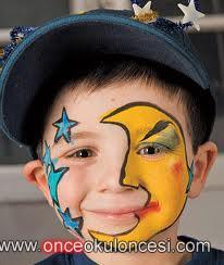 Best Okul öncesi Için Yüz Boyama örnekleri Image Collection