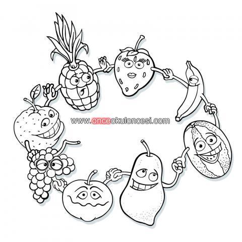 Sevimli Sebze Meyveler