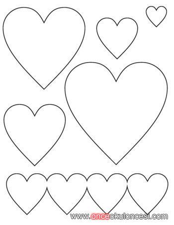 Трафареты шаблоны сердечек Афиша.