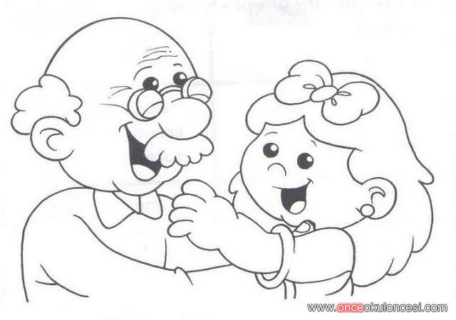 Büyükanne Büyükbaba Ve Torunlar