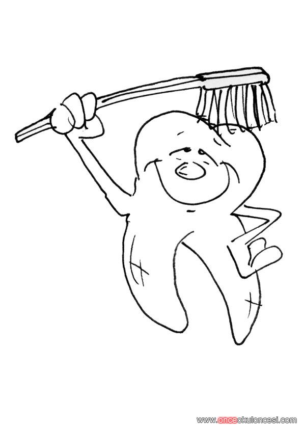 diş diş fırçası diş macunu diş İpi boyamaları