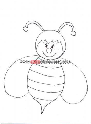 Arıarı Kovanı Ve Uğurböceği Boyamaları