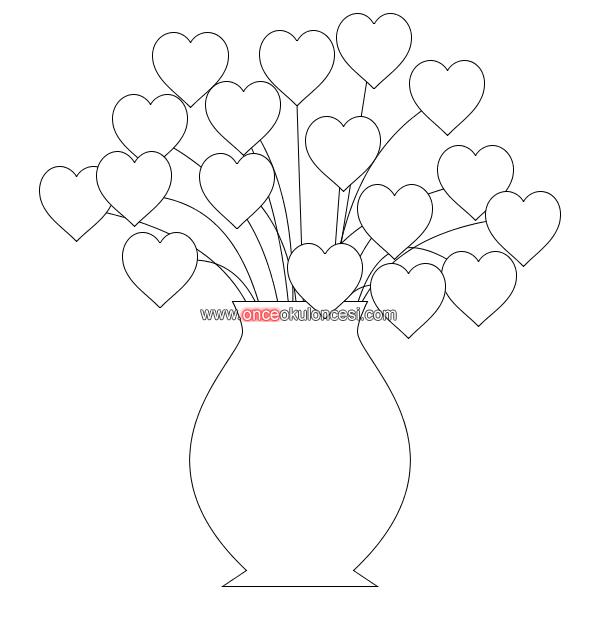 Kalplerden Ağaçvazoçiçek