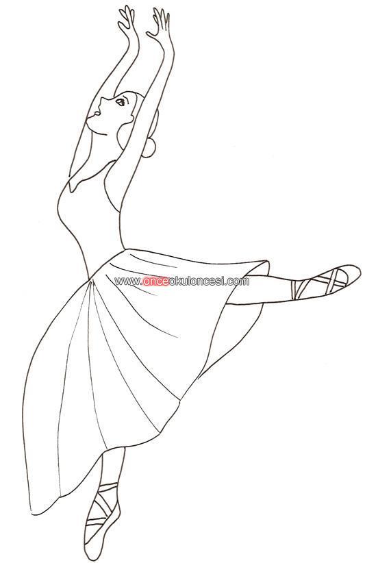 Disegno Di Ballerina Danza Classica Da Colorare Pictures to pin on ...