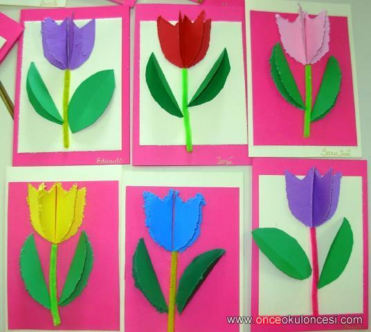 Lale Resmi Boyama Okul Oncesi Coloring Free To Print