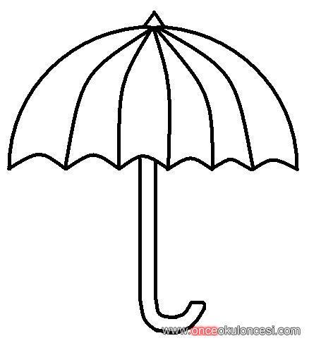 Iki Tane şemsiye Kalıbı