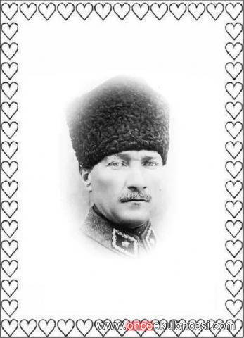 Kalpli Atatürk çerçeveleri