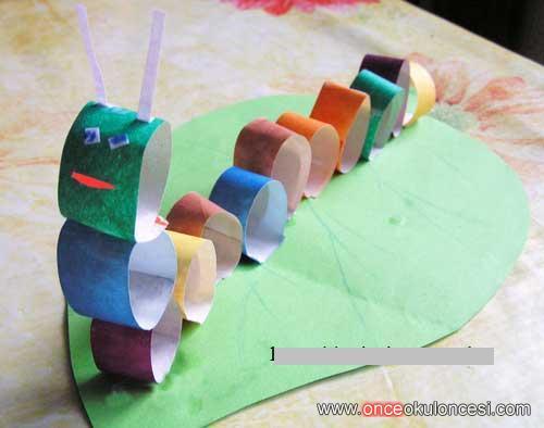 Поделки из бумаги для детей 3 лет своими руками