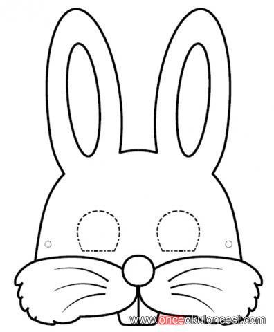 Tavşanaslanfilkurbağa Ve Kelebek Maskeleri