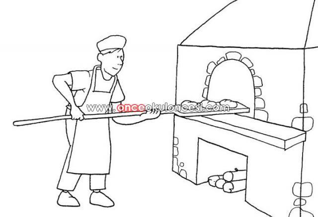 Ekmeğin Oluşum Aşamaları Boyamalari