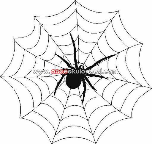örümcek Boyamaları