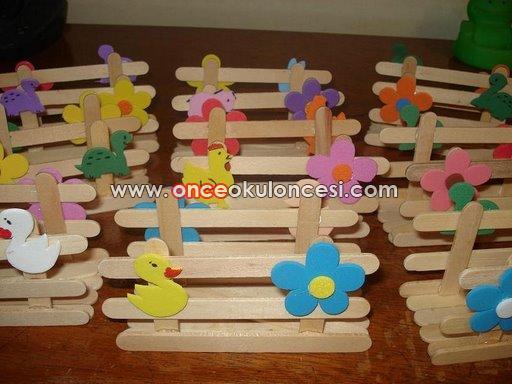 Палочки от мороженого поделки своими руками