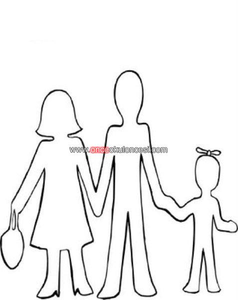 Aile Anne Baba Cocuk Kalibi