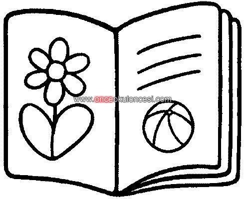 Kitap Ile Ilgili Boyamalar