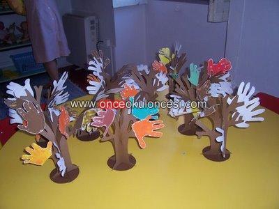 Ellerden 3 Boyutlu Ağaç