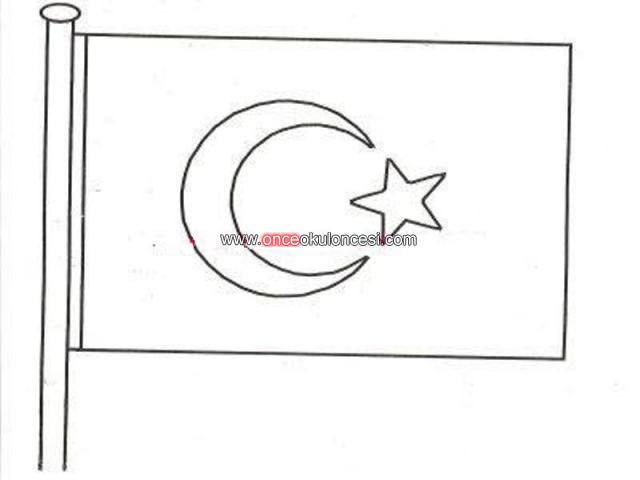 Ataturk Boyamalari Ve Turk Bayragi